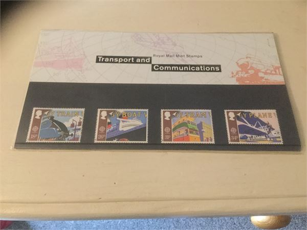 MINT GB STAMPS IN PRESENTATION PACK