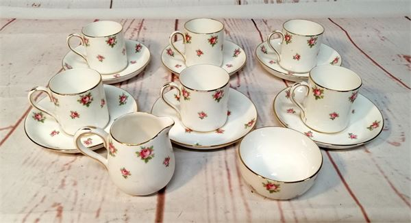 Early Edwardian Coffee Set