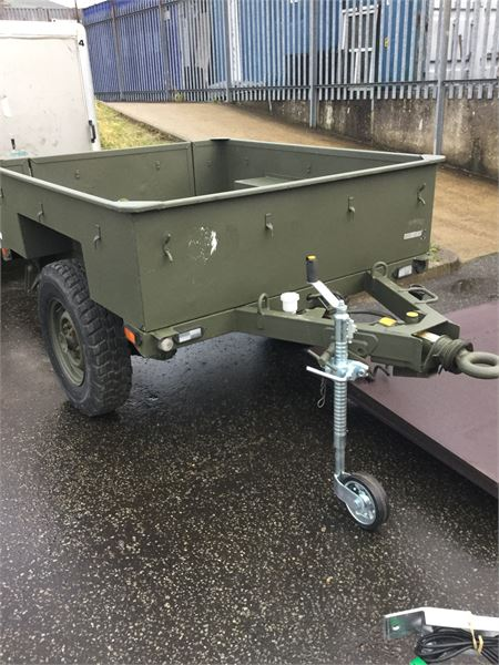 Sankey 3/4 Tonne Military Trailer