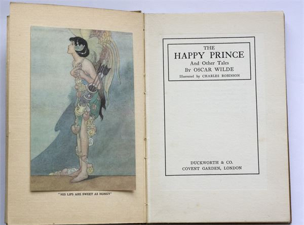 The Happy Prince and Other Stories by Oscar Wilde 1920, Illustrations by Charles