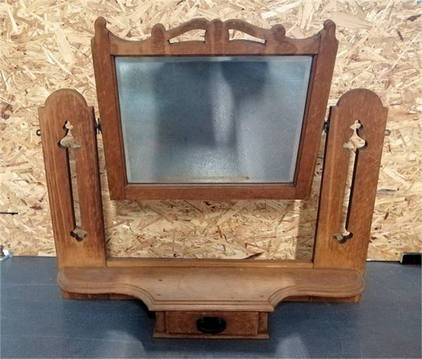 Arts & Crafts Style Dressing Table Mirror